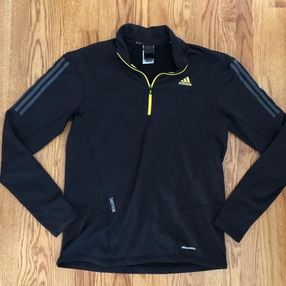 Details about Adidas Climawarm ® Men's Running Jumper Fleece